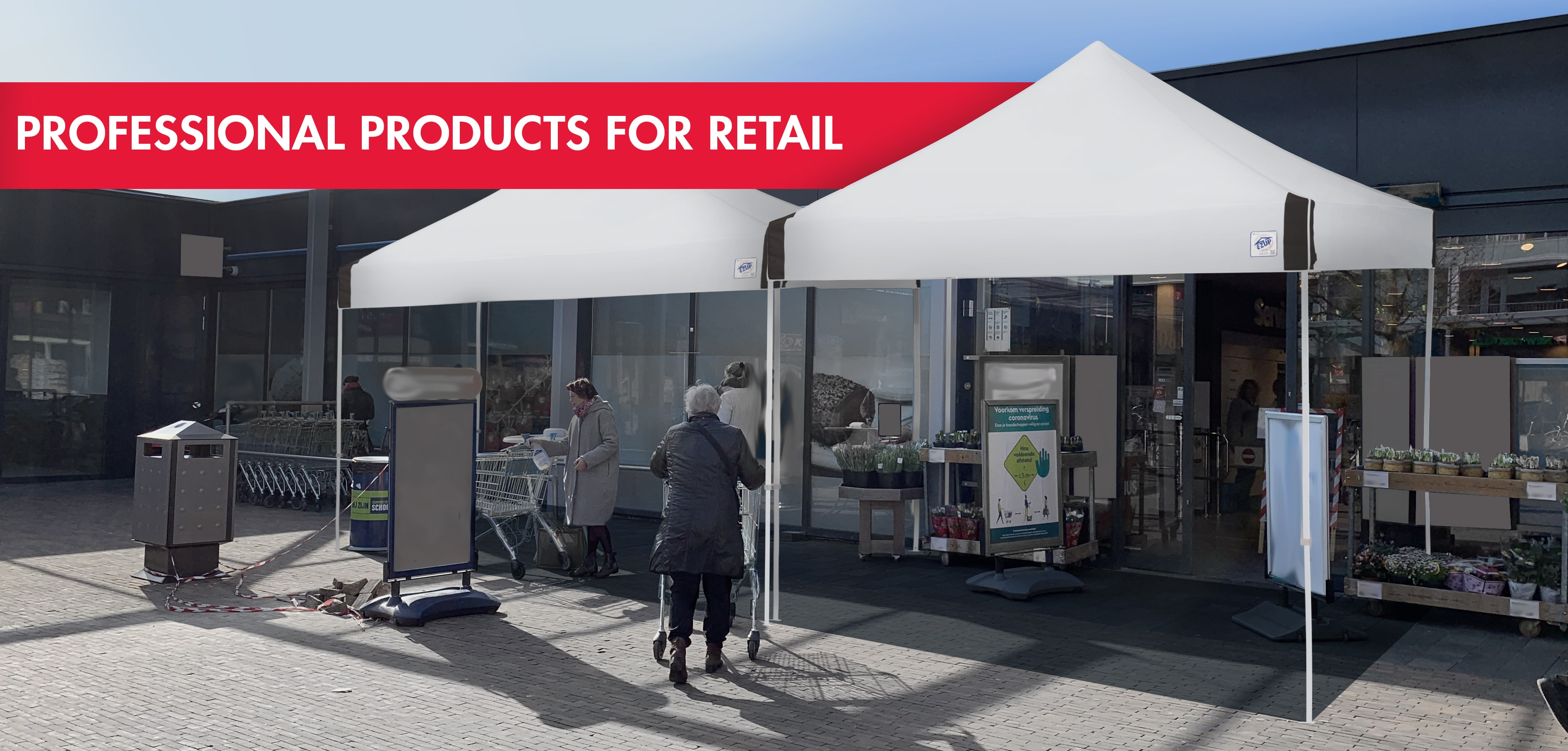 Professionele producten voor retail