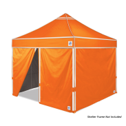 Hi-Viz Sidewall 3.0 m (10') 4 Pack Bright Orange