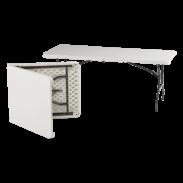 Vendor tafel 0,8 m x 1,8 m (2.5' x 6')