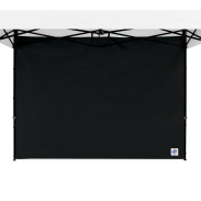 Standard Sidewall - 8 ft (2.5m) with Truss Clips - Black