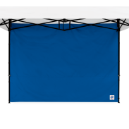 Standard Sidewall - 8 ft (2.5m) with Truss Clips - Royal Blue