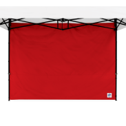 Standard Sidewall - 8 ft (2.5m) with Truss Clips - Red