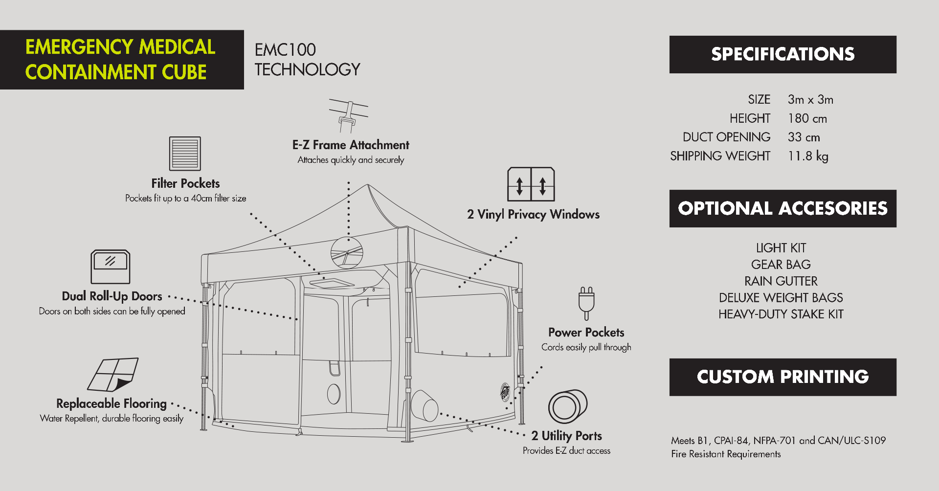 Shelter Technology Specifications