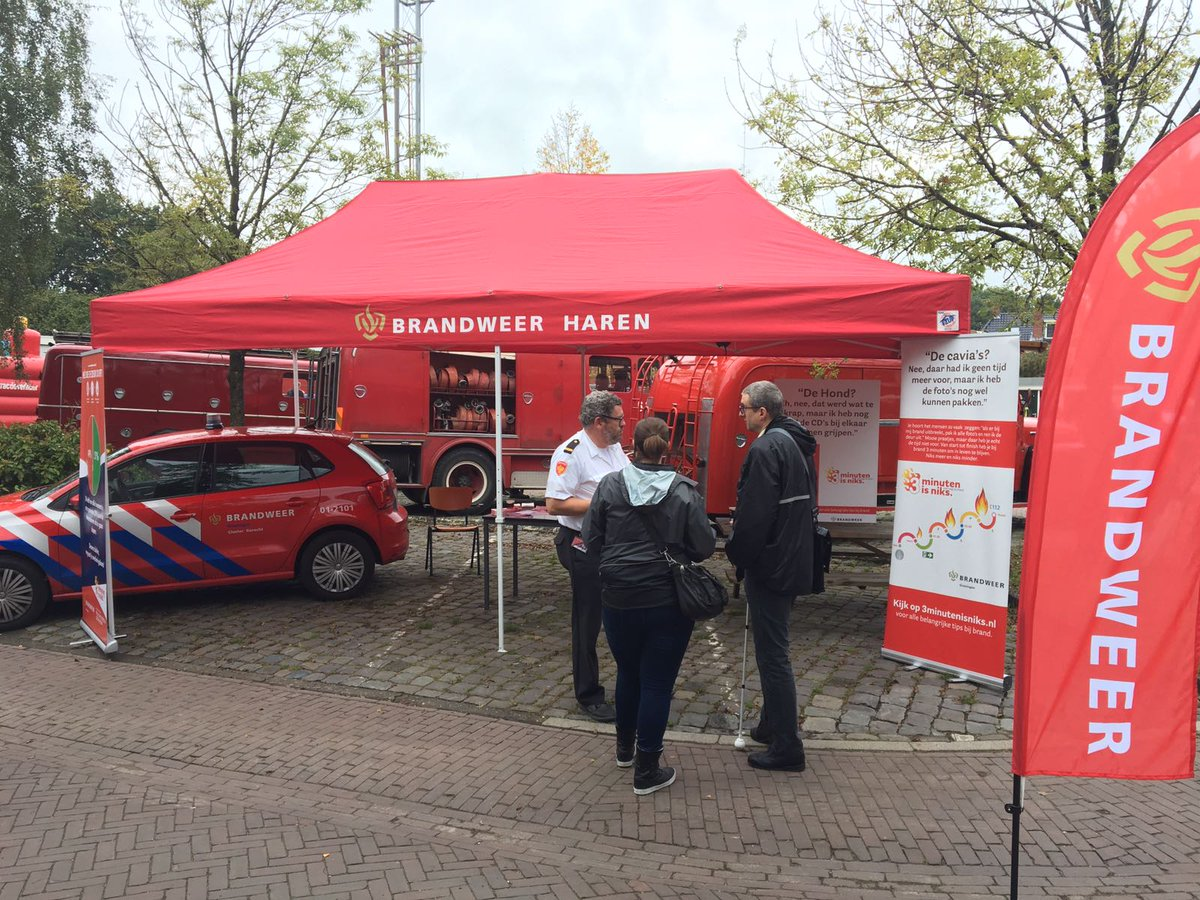 Brandweer Haren by E-Z UP