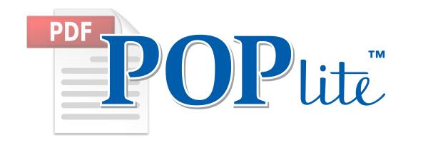 Pop Lite™ -Kiosk, Marquee, & Half-Peak